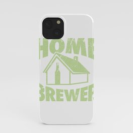 Home Brewing Gift Product Homebrew Craft Beer Design iPhone Case