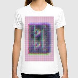 Dot glitch cassette T-shirt