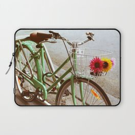 MINTY BIKE Laptop Sleeve