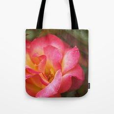 Flower Web Tote Bag