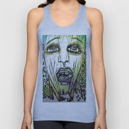 Are You Afraid? Unisex Tank Top