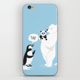 How little Pandas are born iPhone Skin