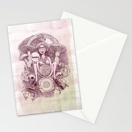 Earth Star Chakra - Witches of the Nine Worlds Stationery Cards