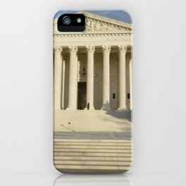 Supreme Court photography iPhone Case