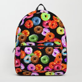 Multicolored Yummy Donuts Backpack