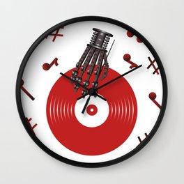 Metal Song Wall Clock
