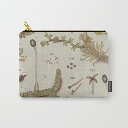 Moss And Hornwort Botany Carry-All Pouch