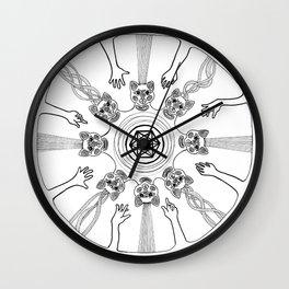 Led Astray Wall Clock