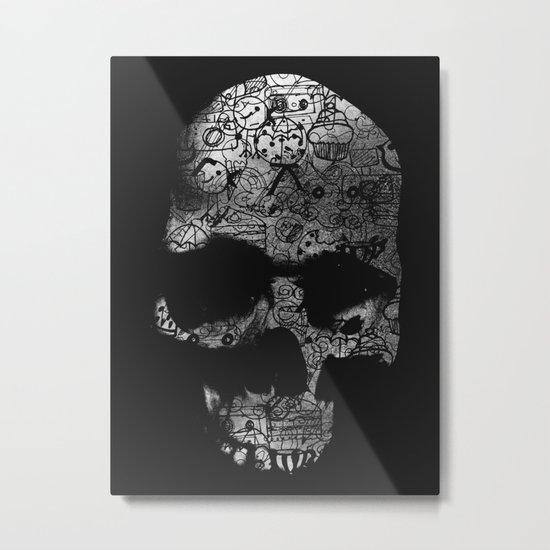 Endless Doodle Metal Print