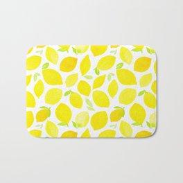 Beautiful Lemon Pattern Bath Mat