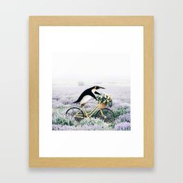 Happy Ride Framed Art Print