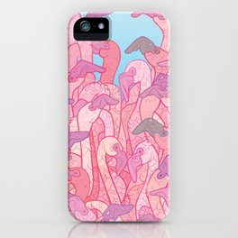 flamingle iPhone Case