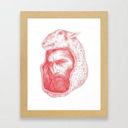 LambSkin Framed Art Print