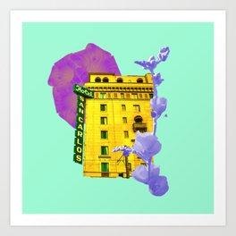 Hotel San Art Print