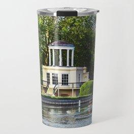 Rowing Past Temple Island Travel Mug