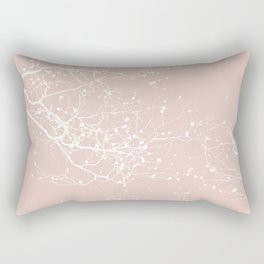 ROSE BRANCHES Rectangular Pillow