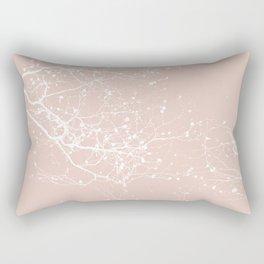 ROSE BRANCHES Rectangular Pillow