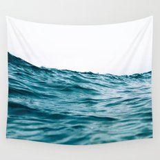 Lost My Heart To The Ocean Wall Tapestry