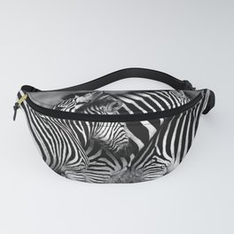 Wild Striped Horses !! Fanny Pack