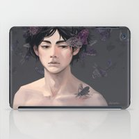 moth iPad Cases featuring Moth by Aleksandra Chabros aka Adelaida