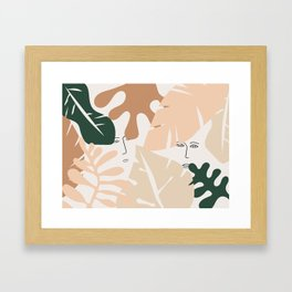 Finding it Framed Art Print
