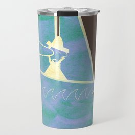 Looking in the Wrong Direction Travel Mug