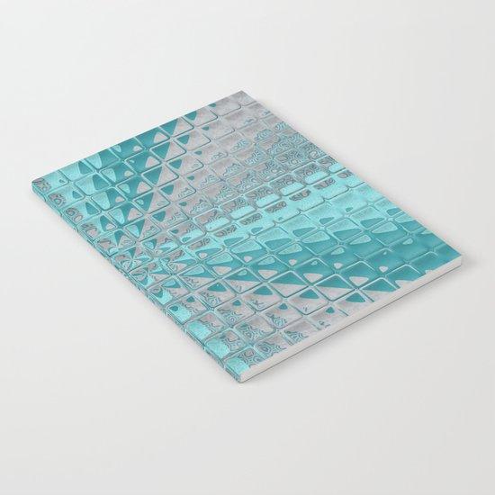 Aqua Reflections Notebook