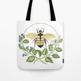 Bombus & Blackberries Tote Bag