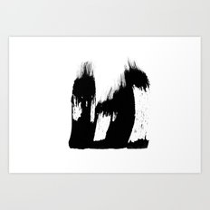 the burden Art Print
