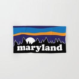 Maryland Moonscape Hand & Bath Towel