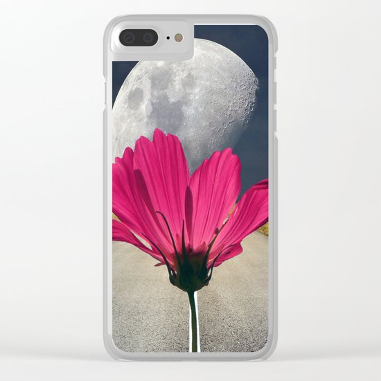 Spacey Cosmos Clear iPhone Case