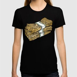 Phat Stacks of 'Real' Money T-shirt