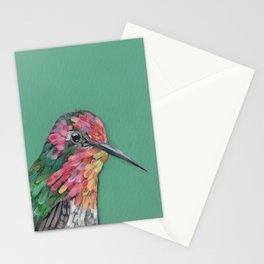 Anna's Hummingbird Portrait Stationery Cards