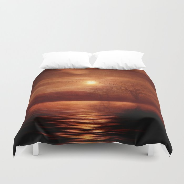 Woods To Conjure Duvet Cover