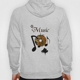 His Master's voice Hoody