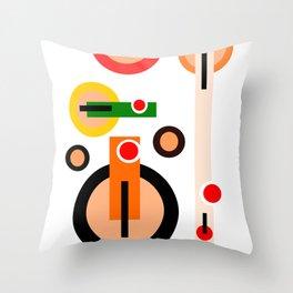 teapots Throw Pillow