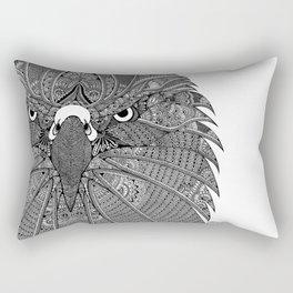 GinaMirandArt-Eagle Totem Rectangular Pillow
