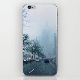 Blue April iPhone Skin