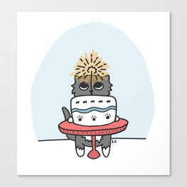 Time for Cake! Canvas Print
