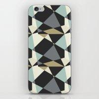 geo iPhone & iPod Skins featuring Geo by SarahFlemingDesigns