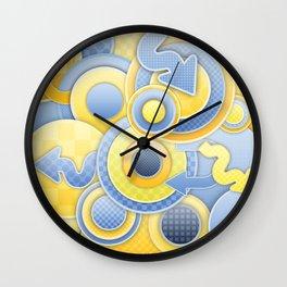 Mumbo Jumbo Wall Clock