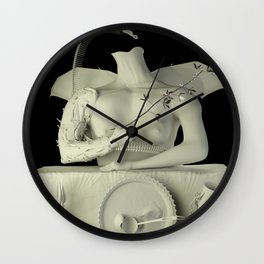 witch with its familiar Wall Clock