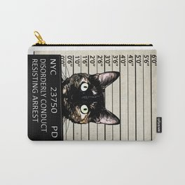 Kitty Mugshot Carry-All Pouch