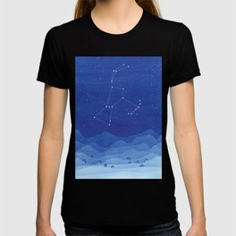 Orion Constellation, mountains T-shirt