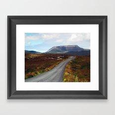 Muckish Mountain Framed Art Print