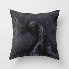 You've lost your soul Throw Pillow