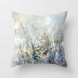 Winter 3 Throw Pillow