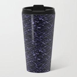 Hornfels 01 - deep indigo texture Travel Mug