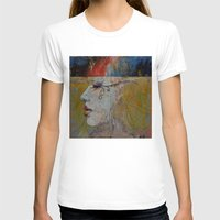 queen T-shirts featuring Queen by Michael Creese