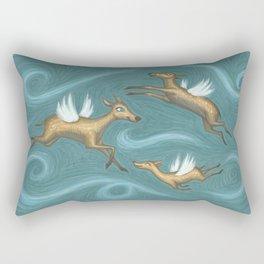 Wind Does Rectangular Pillow